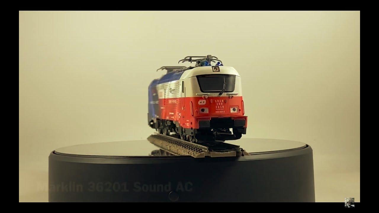 Vorstellung Trix 22454 H0 E-Lok BR380 der CD DCC/mfx Sound.Modellbahn Kramm