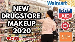 NEW DRUGSTORE MAKEUP SHOP WITH ME: ULTA, WALMART, TARGET & CVS!