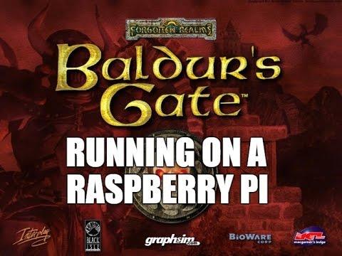 RetroPie - Baldurs Gate running on a Raspberry Pi with GemRB