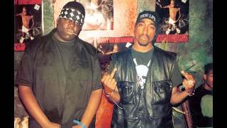 Tupac & Biggie Smalls - Live Freestyle 95