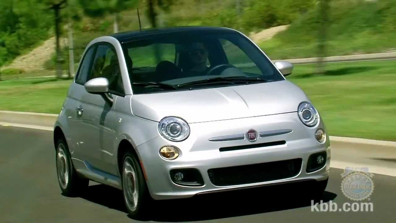2012 fiat 500 review - kelley blue book - youtube