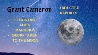 Grant Cameron with Abductee Sev and her experience with Grey Aliens, ET markings and hybrid program.