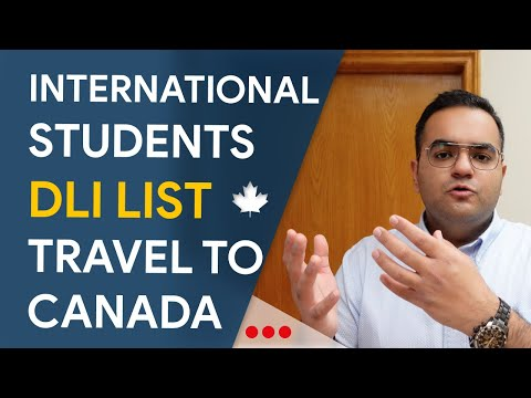 [IMP] DLI List Announced - IRCC Updates For International Students In Canada Immigration News, Vlogs