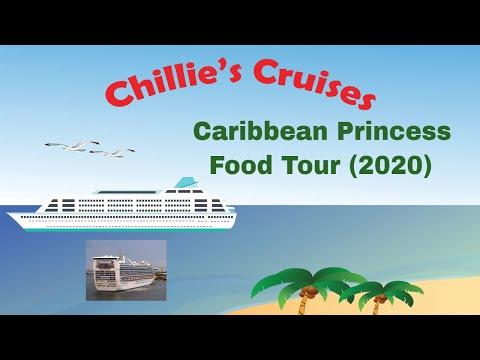 Caribbean Princess Food Tour (2020)