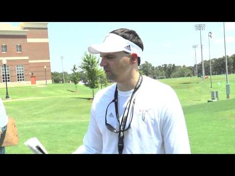 Troy Football Practice Report - Aug. 1, 2015