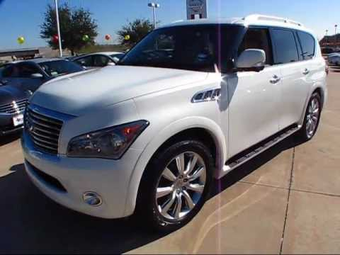2011 Infiniti QX56 AWD Start Up, Exterior/ Interior Review