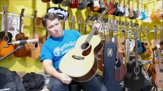 prezentacja gitary martin john mayer omjm sklep gama gdańsk