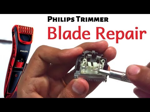 Philips Trimmer Repair and Blade Assembly (QT4011, QT3310, BT1212 ) | Tamil