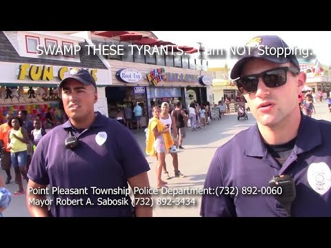 It is illegal to record in this town: Tyrant alert