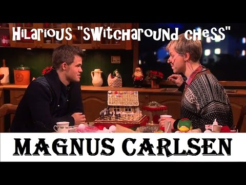 Magnus Carlsen plays hilarious
