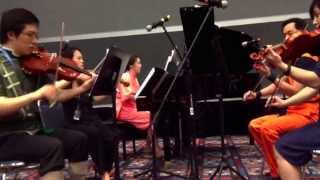 Mononoke Hime - piano/violins/viola - live at Anime Matsuri 2015