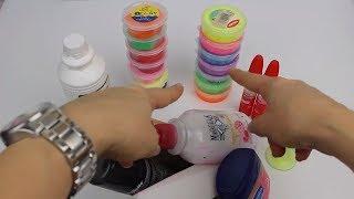 Clay Slime Karıştırma Challenge!!   Fail Pofuduk Slime Muhteşem Güzel Slime Oldu!    Bidünya Oyuncak