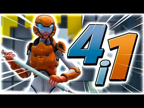 4 MAPS i 1?! (DROPPER, PARKOUR, TRIVIA & SPEED) - Dansk Fortnite