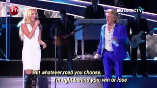 Forever Young Rod Stewart and daughter Ruby DUET.mp3