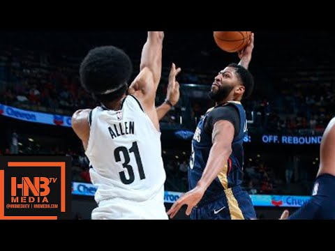 New Orleans Pelicans vs Brooklyn Nets Full Game Highlights | 10.26.2018, NBA Season