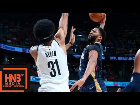 New Orleans Pelicans vs Brooklyn Nets Full Game Highlights | 10.26.2018, NBA Season