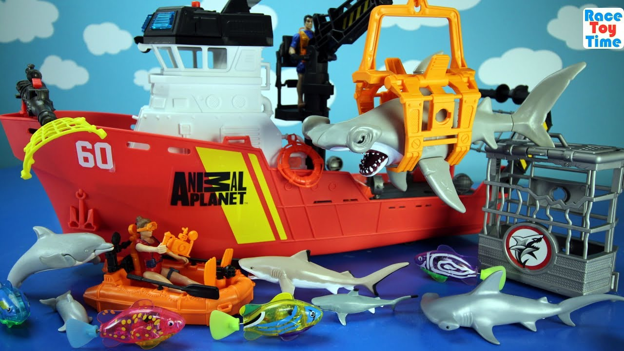 Best Animal Planet Toys For Kids And Toddlers : Animal planet deep sea animals shark toys playset for kids