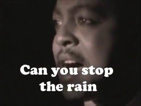 Can You Stop The Rain - Peabo Bryson (Lyrics)