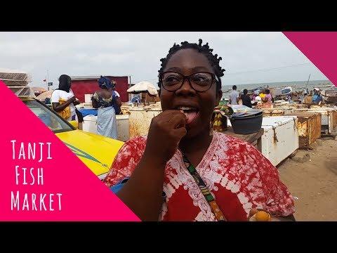 Tanji Fish Market   Life in Gambia