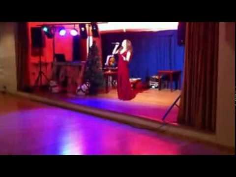 Portsmouth Singer LAUREN STANLEY - Goldfinger. Clic Sargent Charity Bond Ball