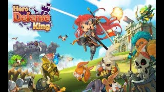 Hero Defense King Android Gameplay HD / New Tower Defense Strategy Game
