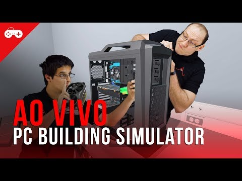 Gameplay Adrenaline - montamos alguns computadores no PC Building Simulator!