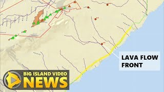 Hawaii Volcano Eruption Update - Saturday Evening (May 19, 2018)