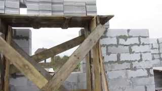 разборные строительные леса своими руками(сегодня пришлось сделать разборные строительные леса высотой 2.20 м, с большой грузоподъемность, легко стало..., 2013-10-03T17:38:35.000Z)