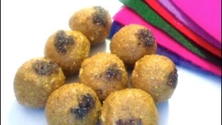 Besan Laddu with Jaggery- Indian Festive Sweet