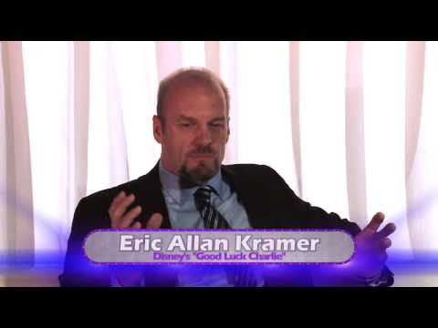 "Interview with Eric Allen Kramer from ""Good Luck Charlie"" - Premiere Event"