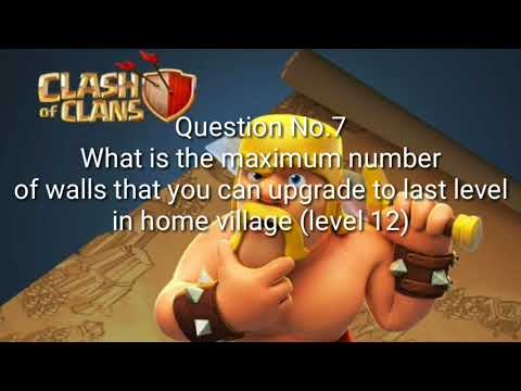 TEST YOUR CLASH OF CLANS KNOWLEDGE!!!|Clash of clans quiz|99% fail|