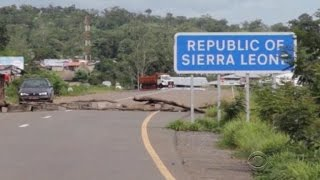 Sierra Leone on lockdown as Ebola outbreak spreads