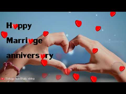 Happy marriage anniversary whatsapp status video, happy wedding anniversary, status