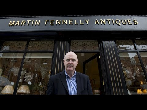 My Art & Antique Gallery In Dublin, Ireland - Martin Fennelly Antiques