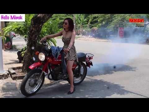 Hello Minsk | Trailer 2 | Motorcycle | Minsk  #kickstartbabes #motorcycle #kickstart #rev