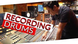 Recording Drums at the Famous Sunset Sound - Warren Huart: Produce Like A Pro