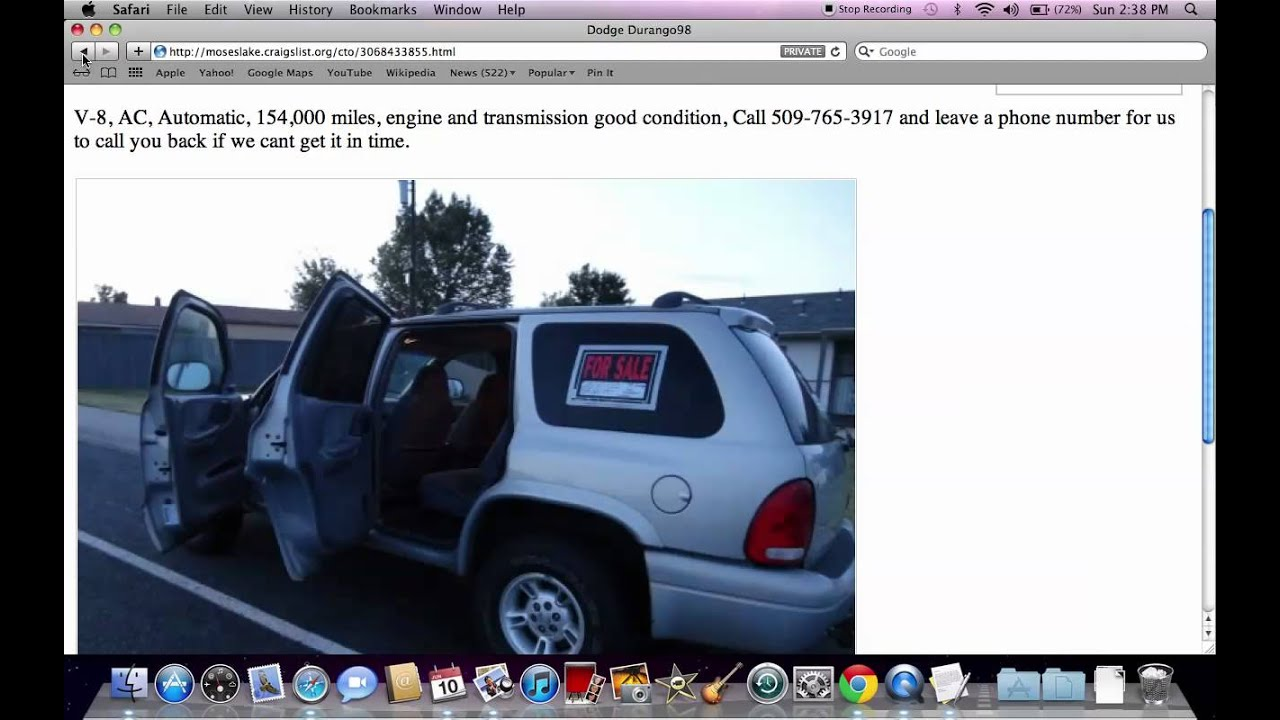 craigslist moses lake wa used cars vehicles for sale by owner