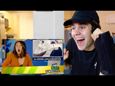 DAVID DOBRIK REACTS TO TEENS REACT TO DAVID DOBRIK