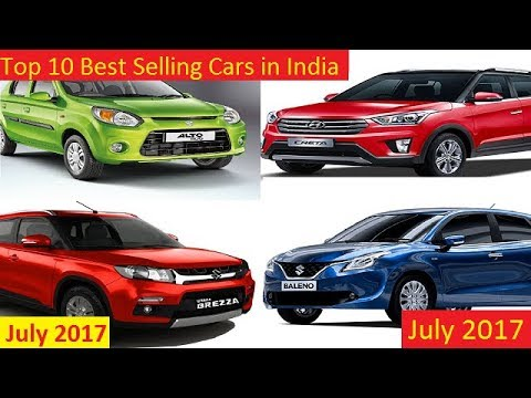 Best Selling Cars 2017 >> Top 10 Best Selling Cars In India July 2017
