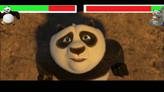 Po vs Tai Lung with healthbars (Remake)
