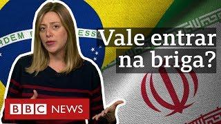 O que Brasil tem a ganhar ou perder ao apoiar Trump no conflito entre Irã e EUA?