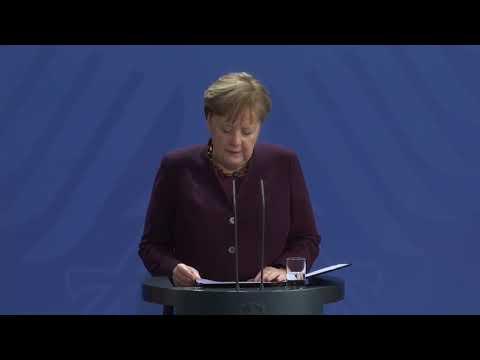Schießerei in Hanau: Stellungnahme von Angela Merkel