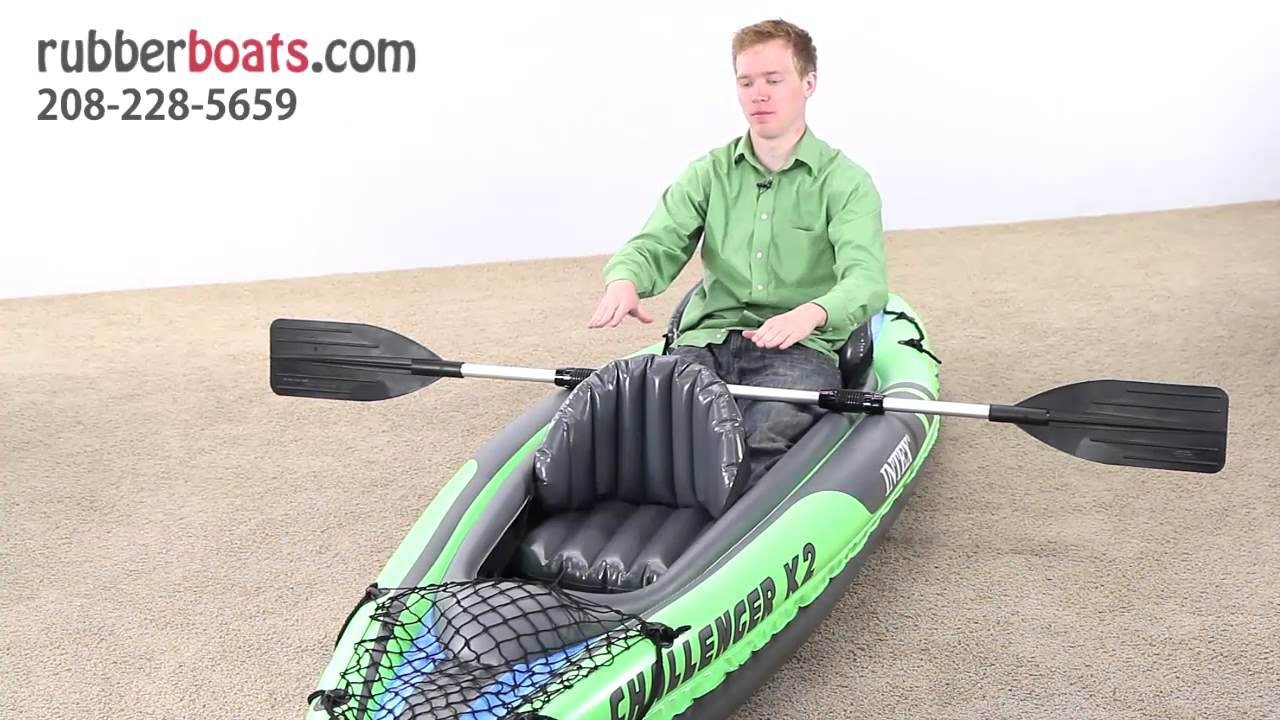 The New Intex Challenger K2 Two Man Kayak