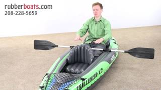 The New Intex Challenger K2 Two-Man Kayak(Buy Now: http://rubberboats.com/product/inflatable-kayak-two-man-k2.html This is a first look at the new Challenger K2 Kayak by Intex. It has been redesigned ..., 2013-04-17T14:28:19.000Z)