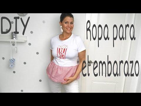 39880ac359ad DIY Como hacer ropa de embarazada con tu ropa normal /Moda ...