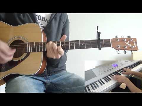 Coldplay  Warning Sign  Guitar, Piano