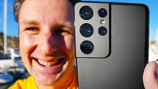 Best Phone For Vlogging: Samsung Galaxy S21 Ultra Camera Review