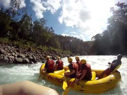 White Water Rafting on the Rio Paquare, Costa Rica with Rios Tropicales (overnight trip)