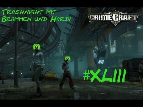Trashnight mit Br4mm3n und Hardi #043 [Deutsch/HD] - CrimeCraft Gang Wars