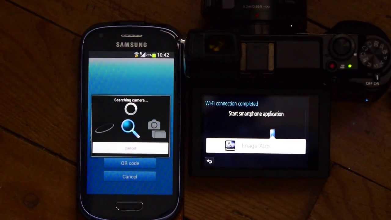 Tethering A Panasonic Lumix GX7 To iPad and Android